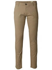 Beige - Three Paris Chinos by Selected