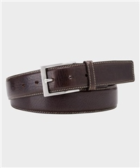 Brown - Spanish Leather Belt by Michaelis