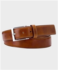 Cognac - Spanish Leather Belt by Michaelis