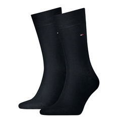 Tommy Hilfiger Navy - 2 Pack Solic Colour Socks