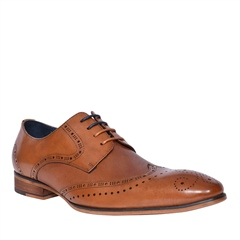 Tan - Twickenham Shoes by Tommy Bowe Footwear