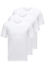 White - 3 Pack Pure Cotton Logo Tees by Hugo Boss