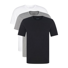 Multi - 3 Pack Pure Cotton Logo Tees by Hugo Boss