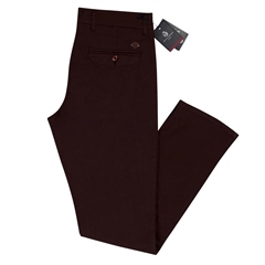 Burg - Modern Slim Fit Chinos by Marco Capelli