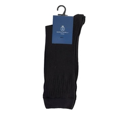 Marco Capelli Black - Soft Rib Socks