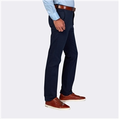 Marco Capelli Navy - Modern Slim Fit Chinos