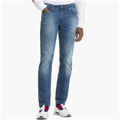 Tommy Jeans Blue - Ryan Relaxed Straight Fit Jeans