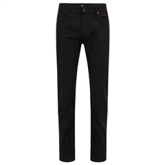 Black - Delaware Slim Fit Jeans by Hugo Boss