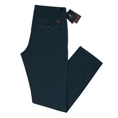 Marco Capelli Teal - Modern Slim Fit Chinos