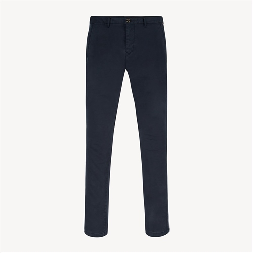 Tommy Hilfiger Navy - Denton Flex Satin Chino  - Click to view a larger image