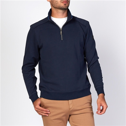 Marco Capelli Navy - Half Zip  - Click to view a larger image