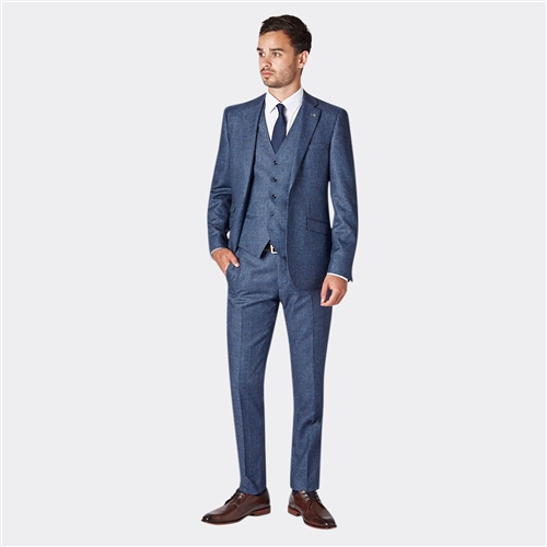 Herbie Frogg Blue - Blue Check Suit  - Click to view a larger image