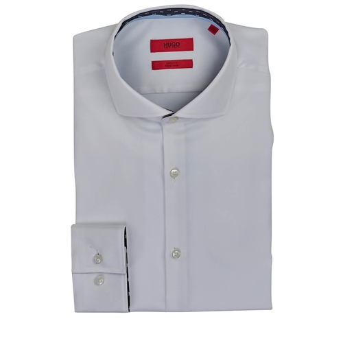 Hugo White - Kerryslim Fit Shirt  - Click to view a larger image