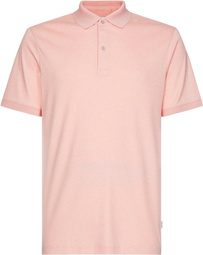 Calvin Klein Pink - Soft Interlock Slim Polo  - Click to view a larger image