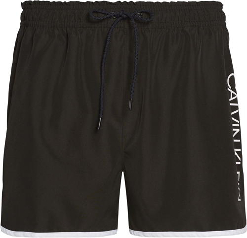 Calvin Klein Black - Short Runner Shorts  - Click to view a larger image