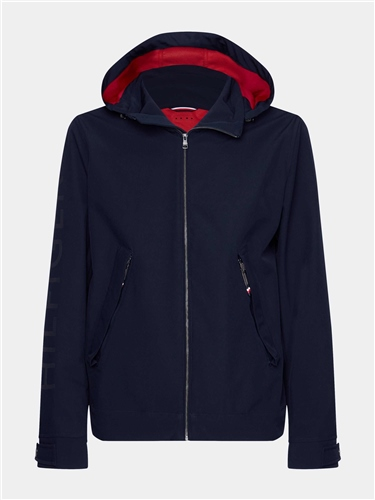 Tommy Hilfiger Navy - Flex Hooded Jacket  - Click to view a larger image