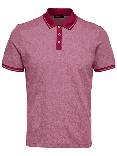 Selected Red - Regular Fit Polo Shirt  - Click to view a larger image