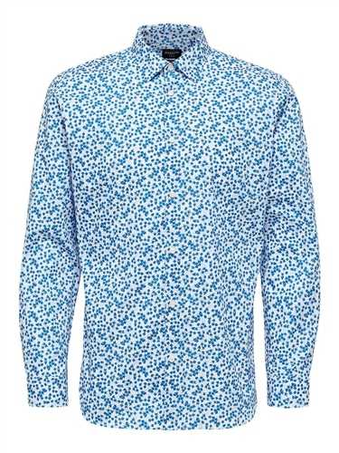 Selected Multi - Kenny Floral Shirt  - Click to view a larger image