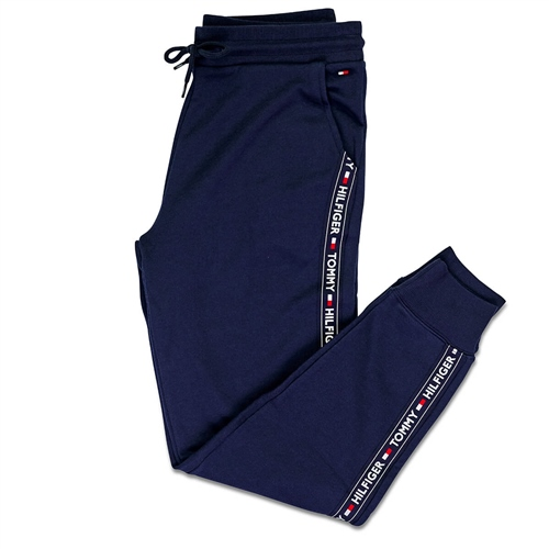 Tommy Hilfiger Navy - Authentic Cuffed Lounge Track Pant  - Click to view a larger image