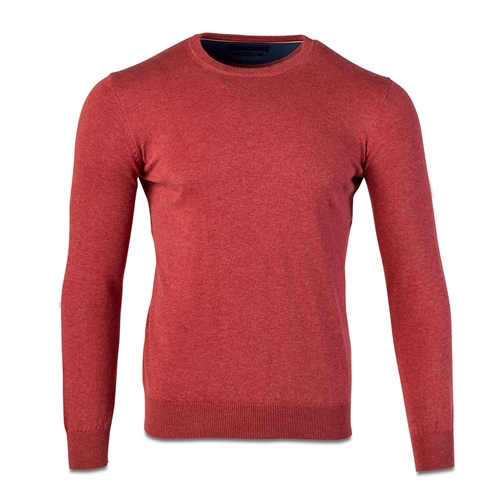 Marco Capelli Rose - Solid Crew Neck Jumper  - Click to view a larger image