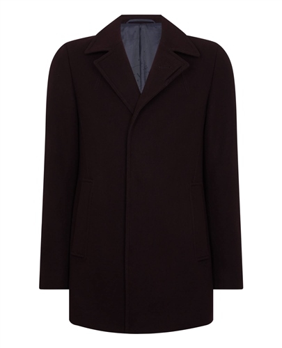 Remus Uomo Wine - Lohmann Coat  - Click to view a larger image