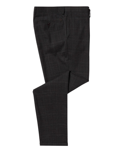 Remus Uomo Charcoal - Slim Fit Leroy Trouser  - Click to view a larger image