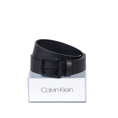 Calvin Klein Black - Essential Ck Boxed Belt 3.5cm  - Click to view a larger image