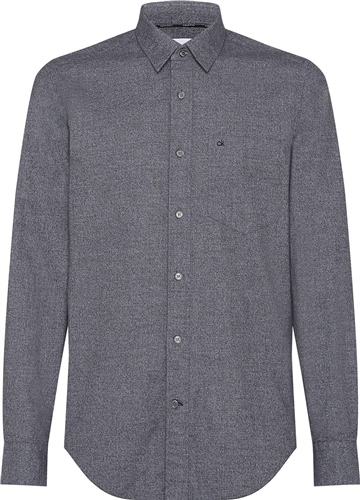 Calvin Klein Grey - Flannel Shirt  - Click to view a larger image