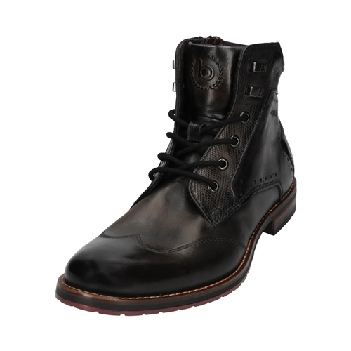 Bugatti Anthracite - Lussorio City Lace Up Boot  - Click to view a larger image