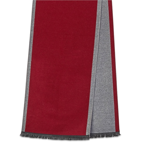 Michaelis Burgundy - Woven Scarf  - Click to view a larger image
