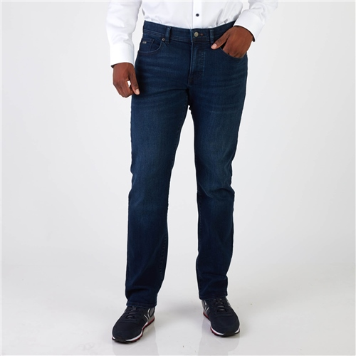 Hugo Boss Navy - Boss Maine Regular Fit Jeans  - Click to view a larger image