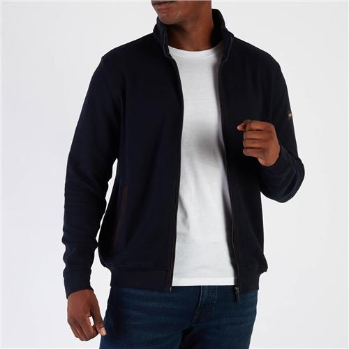 Bugatti Navy - Full Zip Sweatshirt  - Click to view a larger image