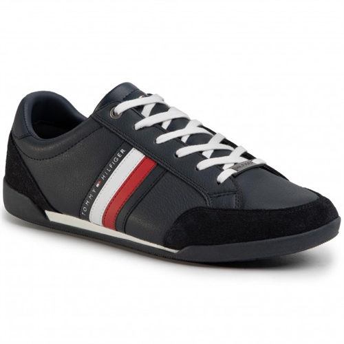 Tommy Hilfiger Navy - Corporate Cupsole Sneaker  - Click to view a larger image