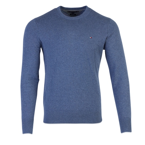 Tommy Hilfiger Indigo - Pima Cotton Cashmere Crew Neck Knit  - Click to view a larger image