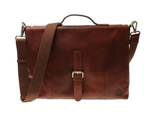 Saddler Brown - Alesund Messenger Bag  - Click to view a larger image