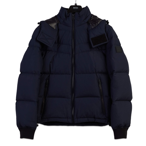 Hugo Boss Dark Blue - Olloh Hooded  Jacket  - Click to view a larger image