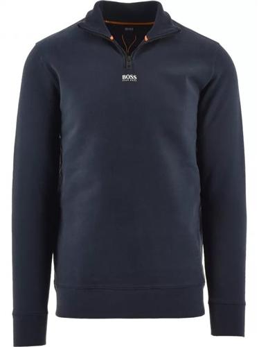 Hugo Boss Dark Blue - Zapper Sweatshirt  - Click to view a larger image