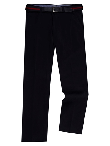 Remus Uomo Light Navy - Bart Cotton Trousers  - Click to view a larger image