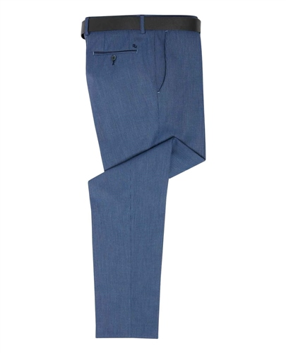 Remus Uomo Grey - Slim Fit Santi Trousers  - Click to view a larger image