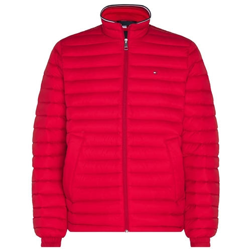 Tommy Hilfiger Red - Quilted Packable Jacket  - Click to view a larger image