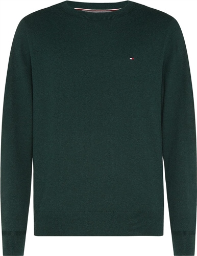 Tommy Hilfiger Green - Pima Cotton Cashmere Crew Neck Knit  - Click to view a larger image