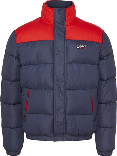Tommy Jeans Navy - Corporate Puffer Jacket  - Click to view a larger image