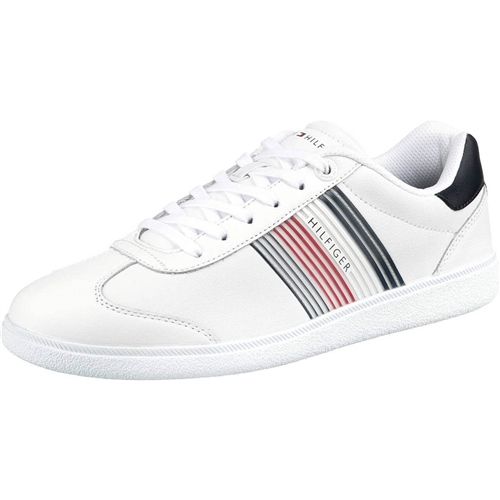 Tommy Hilfiger White - Essential Corporate Sneaker  - Click to view a larger image