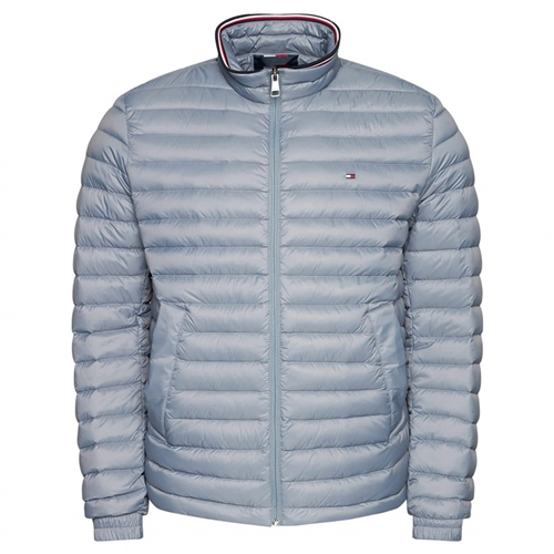 Tommy Hilfiger Light Grey - Down Packable Jacket  - Click to view a larger image