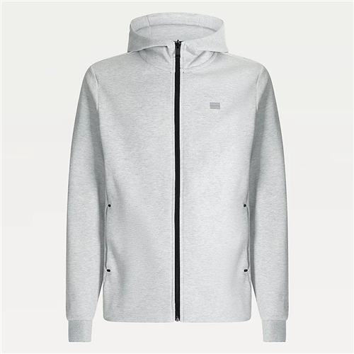 Tommy Hilfiger Grey - Modern Essential Hood Zip Thru  - Click to view a larger image