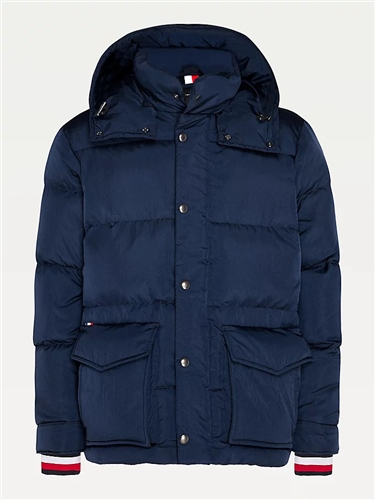 Tommy Hilfiger Navy - Tommy Down Hooded Jacket 1