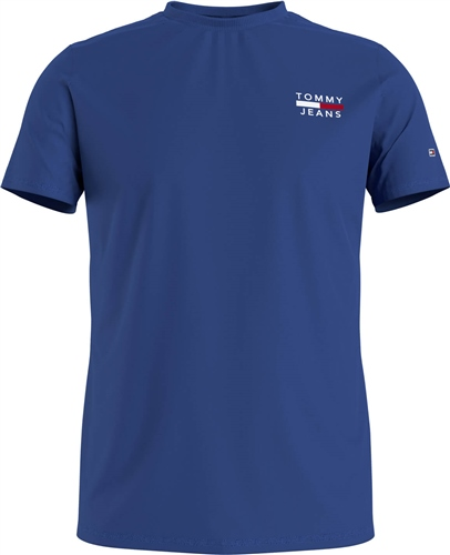 Tommy Jeans Cobalt - Tommy Chest Logo Tee Rf 1