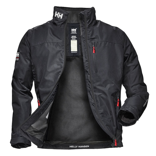 Helly Hansen Navy - Crew Midlayer Jacket  - Click to view a larger image