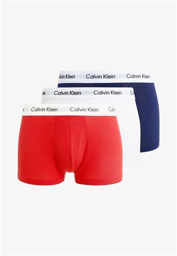 Calvin Klein Multi - 3 Pack Cavin Klein Trunks  - Click to view a larger image