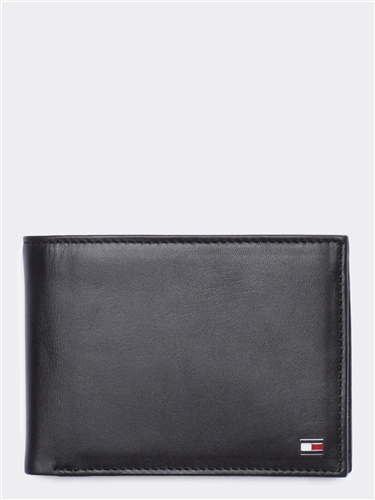Tommy Hilfiger Brown - Eton Wallet With Coin Pockets 1